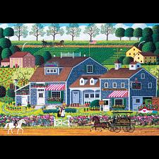 Charles Wysocki: Prairie Wind Flowers