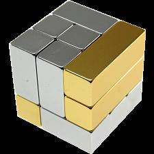 Metal Art: i-Cube - Gold -