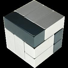 Metal Art: i-Cube - Grey -