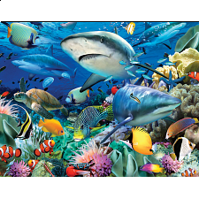 Mini Puzzle - Ocean Garden - 1-100 Pieces