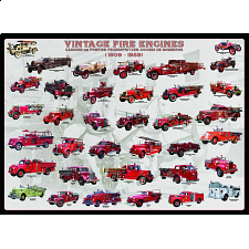 Vintage Fire Engines - 1000 Pieces