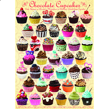 Chocolate Cupcakes - Jigsaws