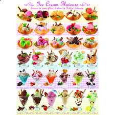 Ice Cream Flavours - 1000 Pieces