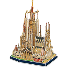 Sagrada Família - 3D Jigsaw Puzzle - Search Results