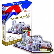 Westminster Abbey - 3D Jigsaw Puzzle -