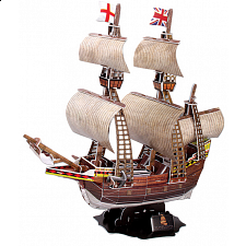 Mayflower - 3D Jigsaw Puzzle - 3D