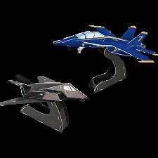 U.S. Military Planes - 3D Puzzle -
