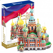 The Church of the Savior on Spilled Blood - 3D Jigsaw Puzzle - Search Results
