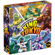 King of Tokyo - 2nd Edition - Board Games