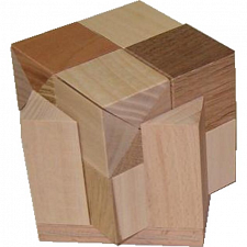 Cube 3 Small - European Wood Puzzles