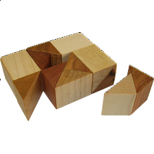 Rectangle AC1 - Without Tray - Wood Puzzles