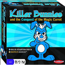 Killer Bunnies Conquest  - Blue Starter Deck