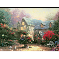 Thomas Kinkade - The Blessings of Spring