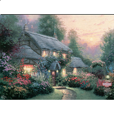 Thomas Kinkade - Julianne's Cottage