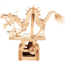 ARToy Moving Model Kit - The Dragon on the Cloud - Wood