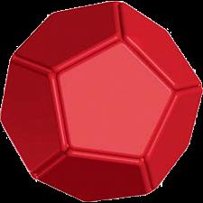 Eureka Ball - Red -