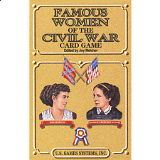 Famous Women of the Civil War - Card Game Deck -