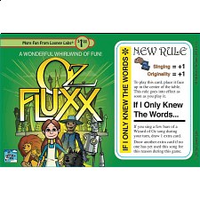 Fluxx: If I Only Knew the Words - Expansion Card