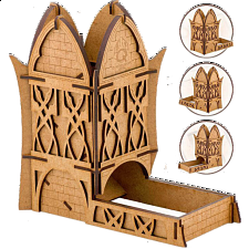 Elven Dice Tower - Game Accessories