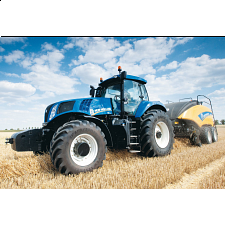 New Holland BigBaler 1290 - Jigsaw Puzzle - 1-100 Pieces