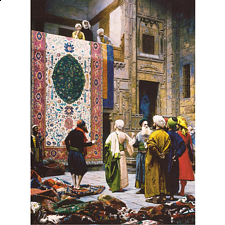 Carpet Seller - Jigsaw Puzzle