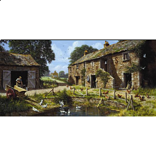 By The Pond - Jigsaw Puzzle
