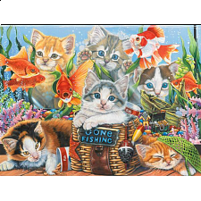 Gone Fishing - Jigsaw Puzzle