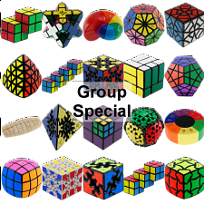 Group Special - a set of 20 Puzzle Master Rotational Puzzles