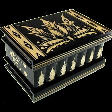 Romanian Puzzle Box - Large Black -