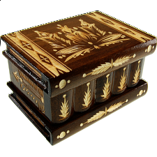Romanian Puzzle Box - Large Brown - Puzzle Boxes / Trick Boxes