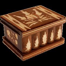 Romanian Puzzle Box - Small Brown -