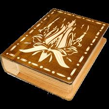 Romanian Secret Book Box - Brown -