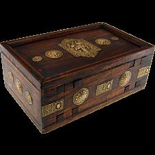Wooden Puzzle Gift Box - Teak -
