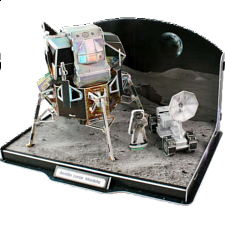 Apollo Lunar Module - 3D Jigsaw Puzzle - 101-499 Pieces