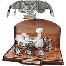 Curiosity Rover - 3D Jigsaw Puzzle - 101-499 Pieces
