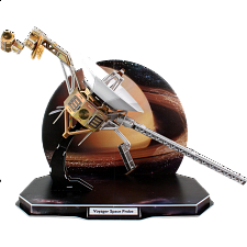 Voyager Space Probe - 3D Jigsaw Puzzle - 3D