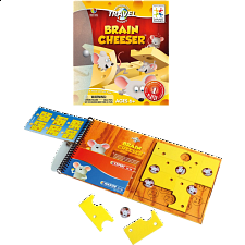 Magnetic Travel Games - Brain Cheeser - Puzzles - Children
