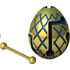 Smart Egg Labyrinth Puzzle - Jester