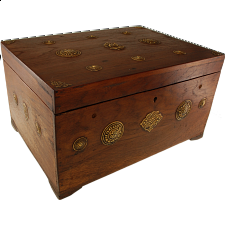 Wooden Puzzle Jewelry Box - Teak - Wood Puzzles
