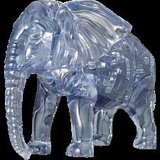 3D Crystal Puzzle - Elephant -