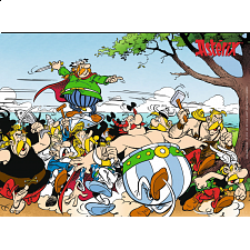 The Gauls attack! / Asterix - 101-499 Pieces