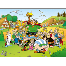 Asterix: The Village - Jigsaws