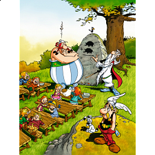 Asterix: Obelix at School - 1-100 Pieces
