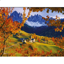 The Dolomites in Autumn - 1001 - 5000 Pieces