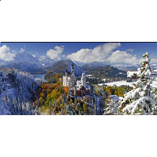 Panorama: Neuschwanstein Castle