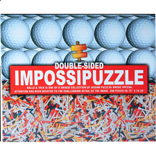 Double-sided Impossipuzzle: Golf Balls & Tees