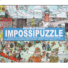 Double-sided Impossipuzzle: Airport & Elephants - Impossibles