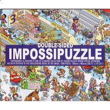 Double-sided Impossipuzzle: Supermarket & Chickens