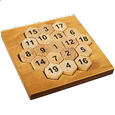 Great Minds: Aristotle's Number Puzzle - Wood Puzzles
