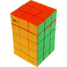 Calvin's 3x3x5 Cuboid with Aleh & Evgeniy logo - Stickerless - Evgeniy Grigoriev